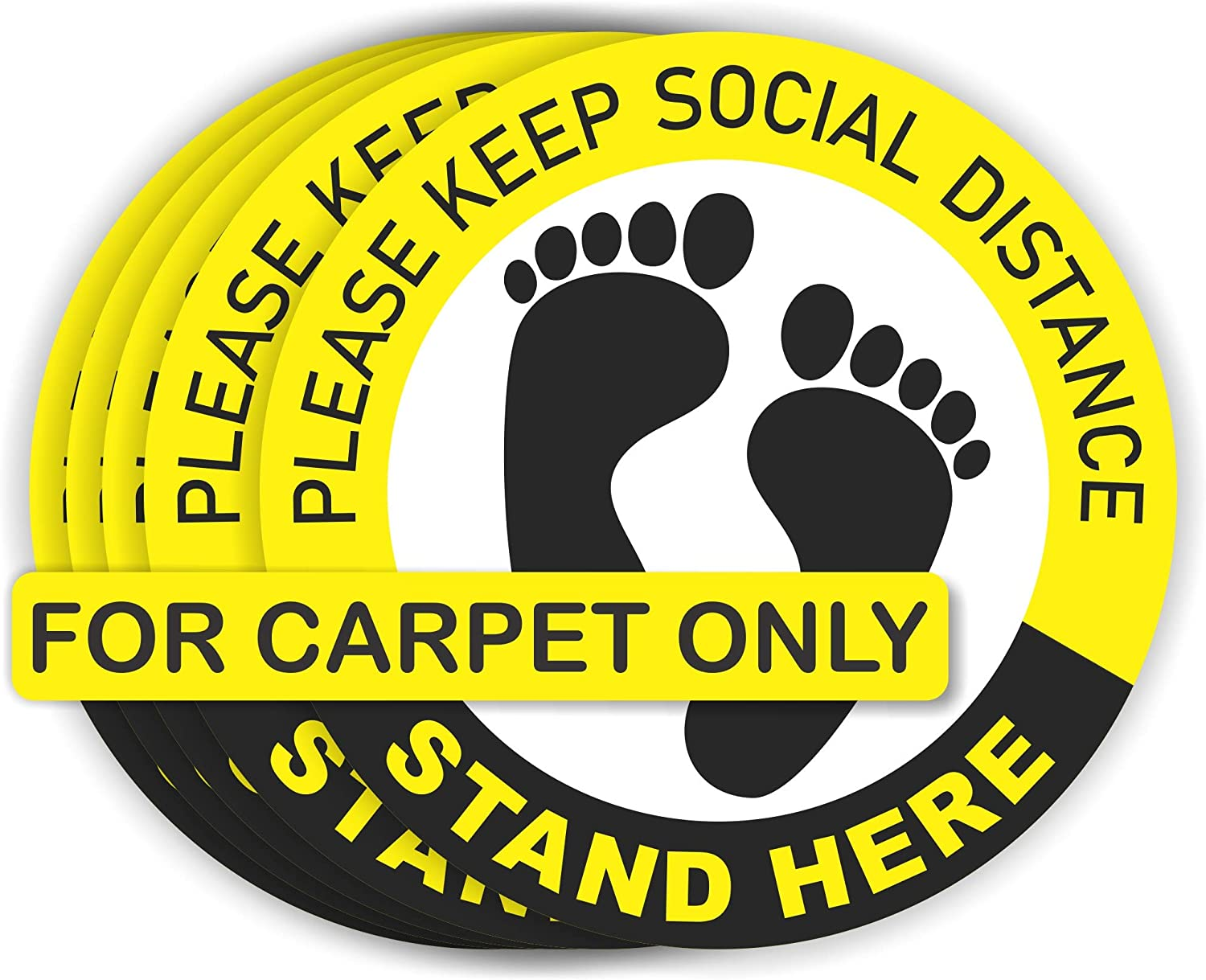Social distancing floor decals for carpet 6 shopping ft. Ranking TOP20 5 p sign