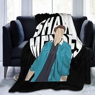 Monroe Lyndon Throw Blanket Shawn Men-des All Season Ultra Premium Fluffy Microfiber Soft Thick Microplush Bed Blanket 50