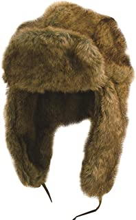 Kakadu Australia Unisex Mock Rabbit Aviator Russian Ushanka Trapper Winter Faux Fur Hat