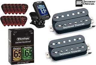 Seymour Duncan Distortion Mayhem Matched Pickup Set SH-6n,b with True Tune Tuner, Dunlop Care Kit, Fender Picks 11108-21-B