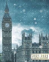 2021-2025 5 Jahre Kalender: Monatsplaner, Terminplaner & Buchkalender | 60 Monate Monatskalender, Januar 2021 bis Dezember...