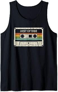 Vintage Best of 1982 37th Birthday Cassette Tank Top