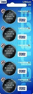 CR2032 Renata Watch Batteries 10Pcs