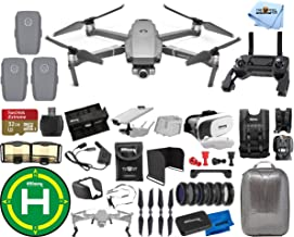 DJI Mavic 2 Zoom 3 Battery (Total) PRO Accessory Bundle with Hardshell Backpack, Drone Vest, 32GB Micro SD, VR Goggles, Charging Hub, Filter Kit, Landing Pad + Much More photo