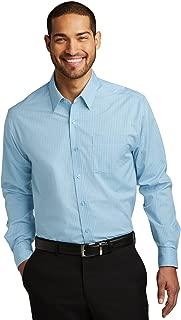 Port Authority Men's Micro Tattersall Easy Care Shirt