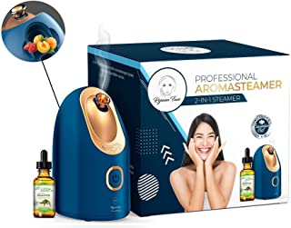 Spa Home Facial Steamer Sauna Open Pores and Extract Blackheads, Rejuvenate and Hydrate Your Skin for younger, youthful co...