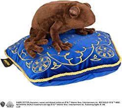 The Noble Collection pluche dier en kussens chocolade kikker