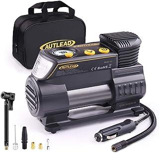 AUTLEAD C2 Compresor Aire Coche, 12V Auto Inflactor Ruedas Coche Embalado, Inflador Electrónico con Conector Rápido, Manóm...