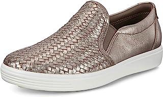 ECCO womens Soft 7 Woven Slip on 2.0 Sneaker
