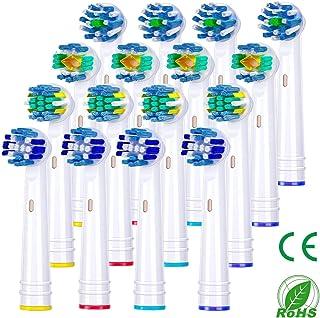 Recambios Cepillo Compatible, Aiemok 16 Cabezales de cepillo