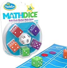 ThinkFun Math Dice Junior Game for Boys and Girls Age 6 and Up - Teachers Favorite and Toy of the Year Nominee