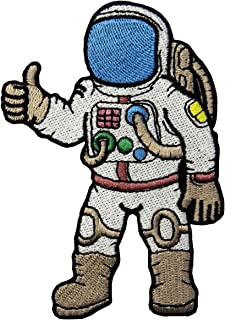 Astronaut A Journey To Space Embroidered Badge Iron On Sew On Patch
