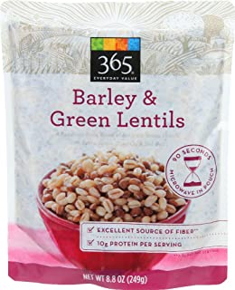 365 Everyday Value, Barley & Green Lentils, 8.8 oz