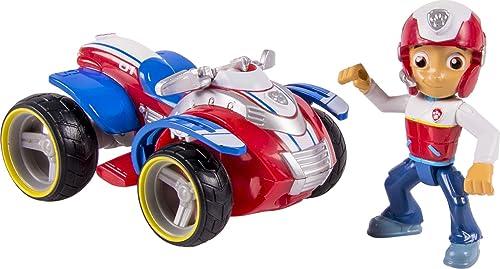 LA PAT' PATROUILLE – Véhicule + Figurine Ryder – Véhicule Jouet Avec Figurine de Ryder – 6024006 – Paw Patrol – Jouet...