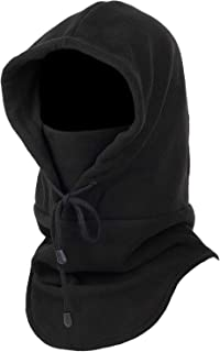 Purjoy Warm Thickening Fleece Balaclava Full Face Mask Hats Neck Warmer