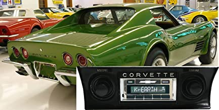 Custom Autosound Stereo compatible with 1968-1976 Chevrolet Corvette, USA-630 II High Power 300 watt AM FM Car Stereo/Radio