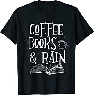 Coffee Rain Books T-shirt