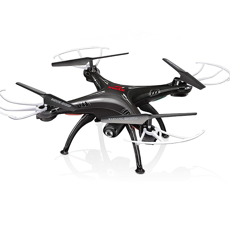 Cheerwing Syma X5SW-V3 FPV 2.4Ghz 4CH 6-Axis Gyro RC Headless Quadcopter Drone UFO with HD Wifi Camera (Black)