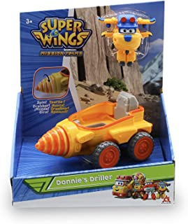 Super Wings Transfom-A-Bot Donnie's Driller Season 3