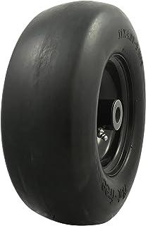MARASTAR 00232 Universal Fit Flat Free 11 x4.00-5 Lawnmower Tire Assembly
