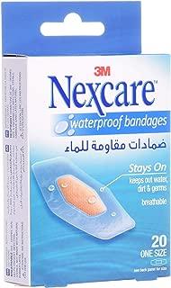 3M Nexcare 586-20D Waterproof Bandages, 20s