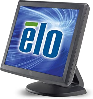 Elo 1515L Desktop Touchscreen LCD Monitor - 15-Inch - Surface Acoustic Wave - 1024 x 768 - 4:3 - Dark Gray E700813