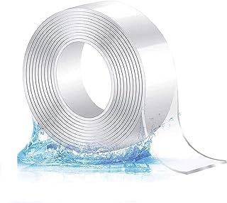 Nano Magic Tape, Sinwind Nano tape, dubbelzijdig sterk, magisch multifunctioneel plakband, zonder sporen wasbaar dubbelzij...