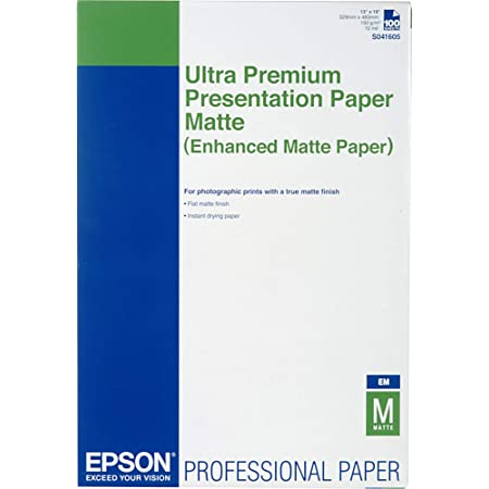 "Epson S041605 Ultra Premium Presentation Paper Matte | 13 x 19"" - 100 Sheets"
