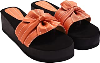 Shopidity Casual Ethnic wear Stylish Slides, Slippers & Flip Flop for Womens Gril's and Ladies Designer Comfortable Fancy ...
