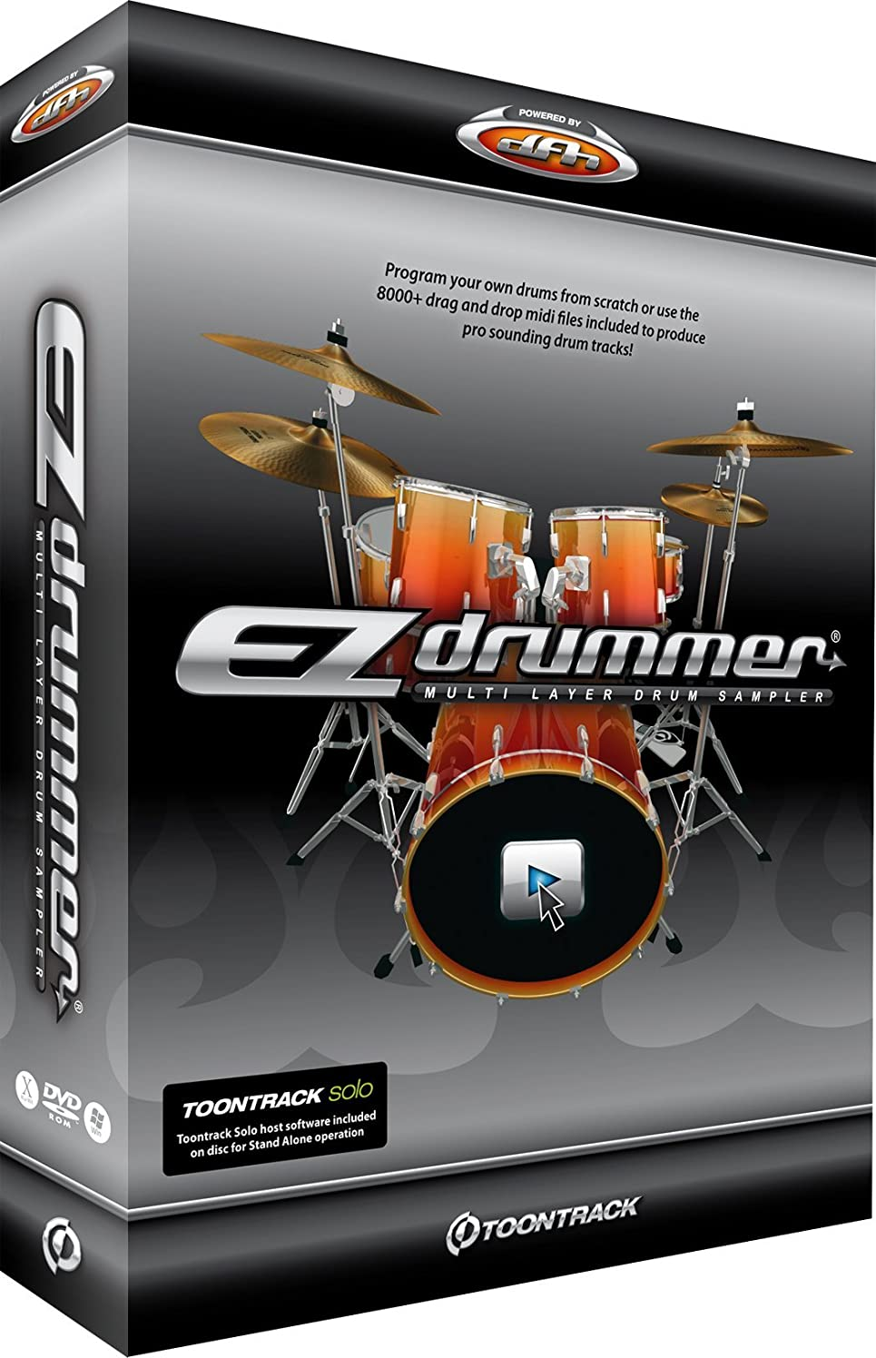 気をつけて拾うプライム『並行輸入品』Toontrack ◆EZ Drummer◆ドラム音源ノンパッケージ/ダウンロード形式