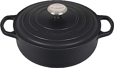 Le Creuset Enameled Cast Iron Signature Sauteuse Oven, 3.5 qt, Licorice