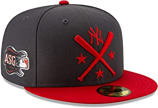 New Era New York Yankees 2019 MLB All-Star Workout On-Field 59FIFTY Fitted Hat - Graphite/Red