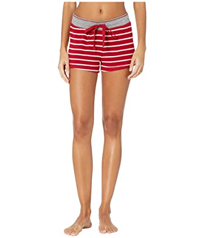 P.J. Salvage Joyful Heart Shorts (Red) Women