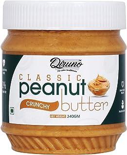 Diruno® Classic Peanut Butter Crunchy 340gm (Gluten Free, Non-GMO)
