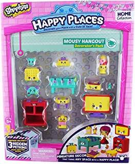 Shopkins Happy Places Series 2 Mousy Hangout Decorator Playset - 5 Years & Above