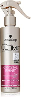 Schwarzkopf Styliste Ultime Crystal Shine Heat Protection Spray, 6.8 Ounce