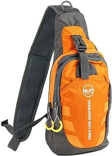 Free Bird 99 Shoulder Sling Chest Bag Running Hiking Cycling One Shoulder Travel Pack Backpack Bag for Men Women (Orange)