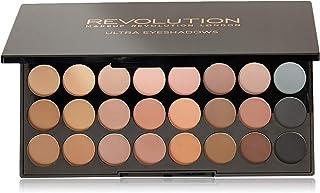 Makeup Revolution London Ultra 32 Shade Eyeshadow, Flawless Matte, 16g