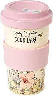Me to You AGM01047 Me to You Good Day Tatty Teddy Bamboo Reusable Coffee Travel Cup