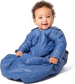 baby deedee Sleep Nest Travel Quilted Baby Sleeping Bag Sack with Sleeves, Monaco Blue, Large (18-36 Months)