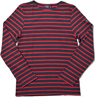 [セントジェームス] 長袖Tシャツ メリディアン モダン 6870 メンズ レディース 01.マリーン×チューリップ S [並行輸入品]