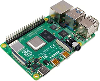 Raspberry Pi 4 Modelo B 2019 Quad Core 64 bit WiFi Bluetooth (4 GB)