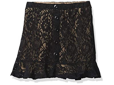 Amy Byer Snap Front Pull-on Skirt