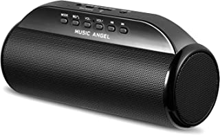 Bluetooth speaker MUSIC ANGEL Wireless Portable Stereo Speakers with Enhanced bass Resonator Bluetooth 4.0 Built-in Mic 40...