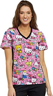 hello kitty medical scrubs