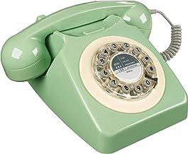 Rotary Design Retro Landline Phone for Home (Renewed) photo