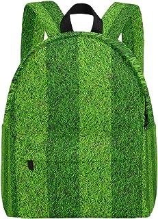 MALPLENA - Mochila para Hombre, diseño de balón de fútbol, Color Verde