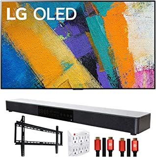"LG OLED65GXPUA 65"" GX 4K Smart OLED TV (2020l) with Deco Gear Home Theater Bundle"
