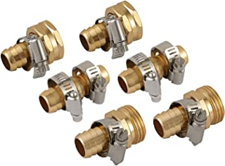 Best brass garden hose repair fittings Reviews