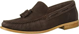 Driver Club USA Mens Made in Brazil Hampton Leather Sole Tassle Loafer